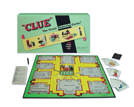 Two Player Clue Scibbe