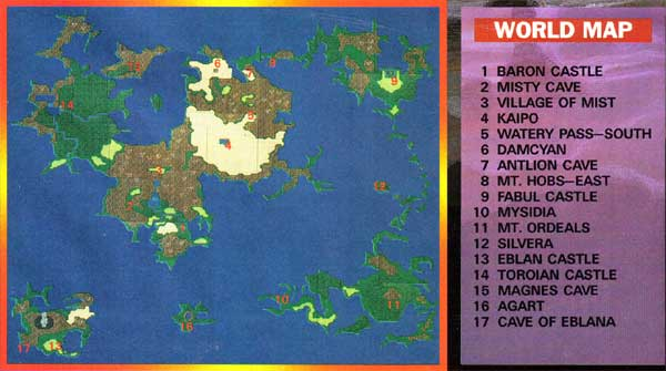 final fantasy 2 map